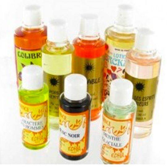 Parfum, Lotion, Huiles